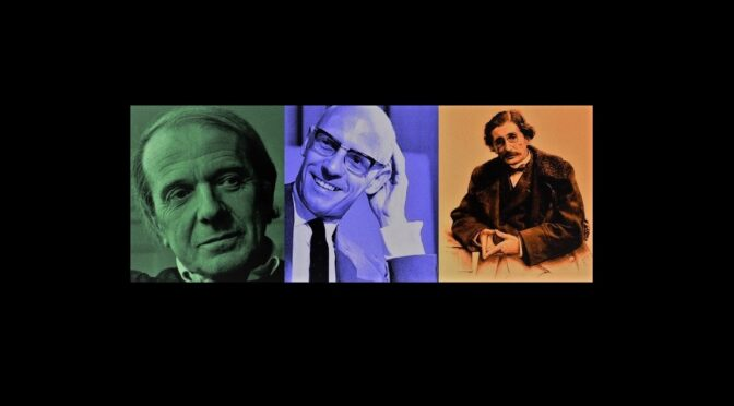 """22.05.2020 seminario """"sul governo"""" N. Tosel: Deleuze lettore di Foucault e Tarde: il governo come potere di affezione"""